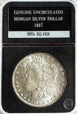 1887 P Morgan Silver Dollar UNC PCS