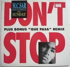 "M.C. SAR + THE REAL McCOY-Don 't Stop (CLUB MIX) - 12""-maxi"