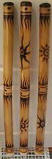 More details for small 90-100cm fair trade bamboo didgeridoo travel children ladies didjeridoo 1m