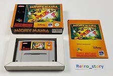 Super Nintendo SNES - Mickey Mania - PAL - EUR