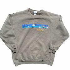 Vintage Tehachpi California Crewneck Sweatshirt Size Large Brown