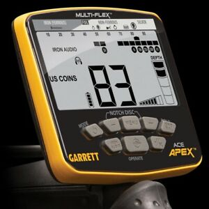 GARRETT APEX METAL DETECTOR- MS3 - RAIDER COIL- COVER- AT Z-Lynk PROBE + Spade !