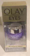 Olay Eyes Retinol 24 Night Eye Cream 0.5 Oz / 15 mL 👁