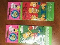 Vintage 90s 2pack The Simpsons Air Freshener 1990 Matt Groening NEW IN PACK LOOK