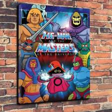 """He-Man Masters Of The Universe Printed Canvas Picture A1-30""""x20"""" 30mm Deep.."""