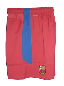 New NIKE BARCELONA Football Shorts Red Youth Boys Girls XL Age 13-15 Years