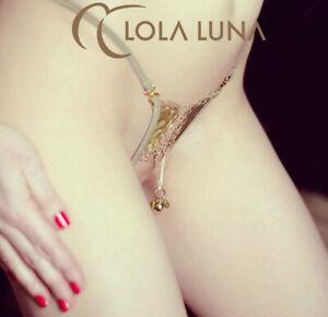 Lola Luna String Verveine Open Grün Gr: S,M