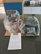 More details for waring commercial mx1100 xtreme hi-power electronic keypad blender + extra jug