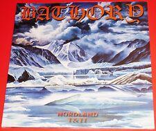 Bathory: Nordland I + II 2 LP 180G Double Vinyl Record Set 2010 BMLP666-21 NEW