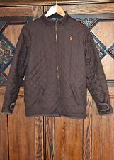 Ralph Lauren Polo quilted jacket size L 14-16 y brown