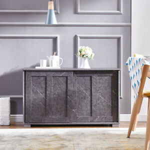Sideboard Cupboard Display Storage Unit Cabinet with Sliding Doors Living Room