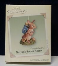Hallmark Keepsake Ornament 2005 Marjolein Bastin Nature's Secret Artist