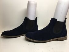 VTG MENS THE RAIL CASUAL SUEDE BLUE BOOTS SIZE 46 M