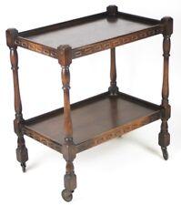 Vintage Art Deco Oak Tea Trolley Table - FREE Shipping  [PL4284]