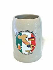 Vtg. German Oktoberfest Napoli Stein Mug Sept 25 2009 - Germany