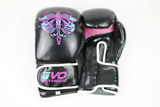 EVO Boxing Gloves Maya leather training Punch Bag Sparring UFC - Butterfly