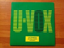 ULTRAVOX - 1986 Vinyl 45rpm Single - ALL FALL DOWN