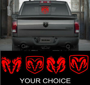 Dodge ram rebel windshield banner