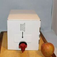 Armagh Drinks company Pure apple Juice 5 litre fridge pack carton bag in box
