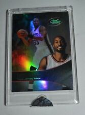 2003 ETOPPS BASKETBALL ALONZO MOURNING NEW JERSEY NETS CARD IN HAND
