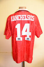 MANCHESTER UNITED 1992/1993 CHAMPIONS FOOTBALL SHIRT JERSEY UMBRO KANCHELSKIS 14