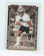 DEUCE MCALLISTER 2001 PACIFIC VANGUARD PRIME PROSPECTS RC ROOKIE CARD #19