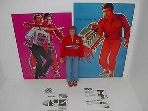 VINTAGE KENNER SIX MILLION DOLLAR MAN W/BIOSONIC KARATE ARM 1978 3RD EDITION