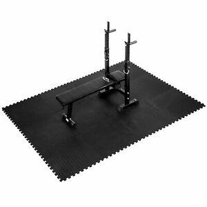 Tapis yoga mousse de sol ensemble puzzle fitness protection gym EVA 61x61cm 12x