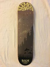Bam Margera Skatebaord  Future Is Nature Starlight Series