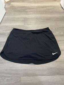 Brand New Nike Black Skort Size M