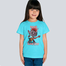 Trolls World Tour Rock Queen Barb Funny Kids, Girl Quality T-shirt
