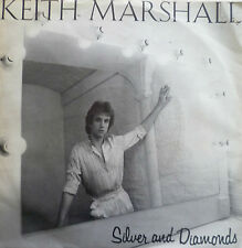 "7"" 1981 FRENCH PRESS ! KEITH MARSHALL (= HELLO ) : Silver And Diamonds"