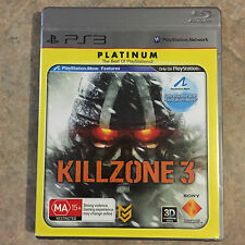Killzone 3 playstation 3 ps3 game Platinum