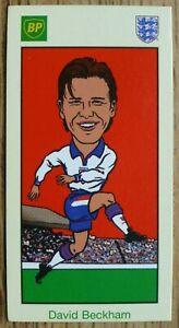 David Beckham BP Team England 98 World Cup Card