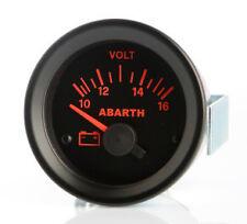 Manometro Strumento Road Italia Abarth Delta Integrale Voltmetro 10-16 Volt 52mm