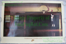 NIKE Poster There Is No Finish Line SIGNED x3 Spurs Strickland Williams Anderson