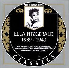 1939-40 FITZGERALD,ELLA Audio CD