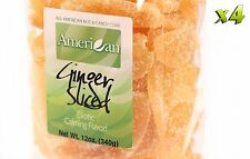 48oz Gourmet Style Bags of Crystallized Ginger Slices [3 lbs.]