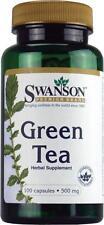 Premium GREEN TEA 100 CAPSULES, 500mg, Fat Burner Pill, Weight Loss, EGCG