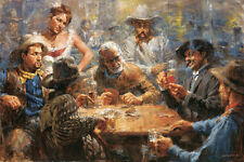 """Draw Poker"" by Andy Thomas - Artist Proof - 26"" x 36"""