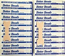 Better Breath Nasal Strips Right Aid To Stop Snoring & Sleep Well  10ct, Large