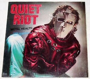 Philippines QUIET RIOT Metal Health LP Record