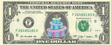 BIRTHDAY CAKE Dollar {In Color}  - REAL, Spendable Money! GREAT GIFT!!