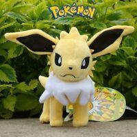 "Pokemon Plush Toy Jolteon 6.5"" Game Collectible Cuddly Stuffed Animal Doll"