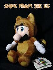 "Nintendo Super Mario 7"" Plush San-ei - Tanooki Mario"