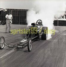 Front Engine Dragster @ Orange County OCIR - Vintage Drag Race Negative