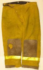 42x28 Globe Fire Wear Yellow Firefighter Pants Bunker Turnout Gear  P881