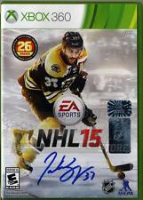 Patrice Bergeron Boston Bruins Signed Autographed NHL 15 XBOX 360 Video Game