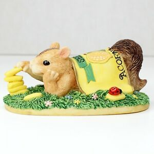 Charming Tails 87/361 One For You... Chauncey Chipmunk Squash Retired Silvestri