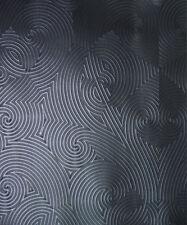 Vlies Tapete Glööckler DEUX 54466 geometrische Linien schwarz metallic Pompös